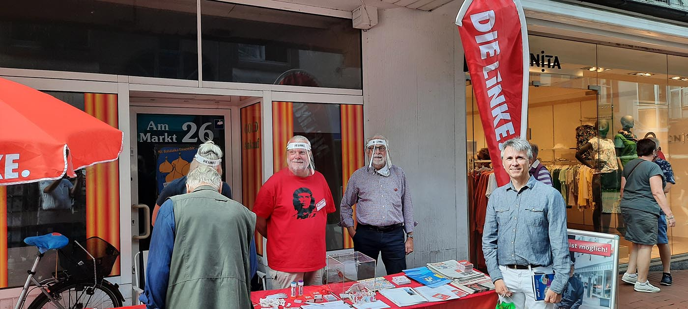 Die Linke Castrop-Rauxel unterstützt Manfred Fiedler